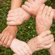 Team - 6 handen in elkaar | Groen Rechts
