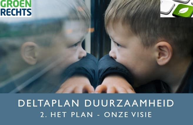 Deltaplan Duurzaamheid 2 Plan en Visie | Groen Rechts