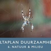 Deltaplan Duurzaamheid 6 Natuur en Milieu | Groen Rechts
